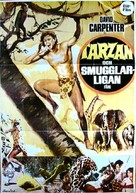Tarzán en las minas del rey Salomón - Swedish Movie Poster (xs thumbnail)