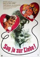 Gable and Lombard - German Movie Poster (xs thumbnail)