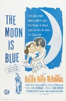 The Moon Is Blue - Movie Poster (xs thumbnail)