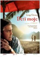The Descendants - Slovak Movie Poster (xs thumbnail)
