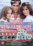 The Hotel New Hampshire - Danish DVD movie cover (xs thumbnail)