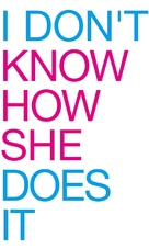 I Don't Know How She Does It - Logo (xs thumbnail)