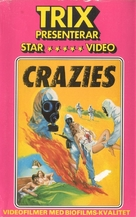 The Crazies - Swedish VHS cover (xs thumbnail)