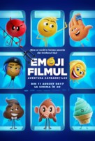 The Emoji Movie - Romanian Movie Poster (xs thumbnail)