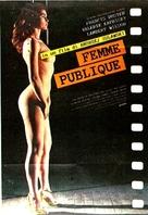 La femme publique - Italian Movie Poster (xs thumbnail)