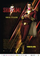 Shazam! - Slovak Movie Poster (xs thumbnail)