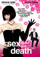 Sex and Death 101 - German DVD movie cover (xs thumbnail)