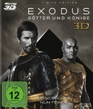 Exodus: Gods and Kings - German Blu-Ray movie cover (xs thumbnail)