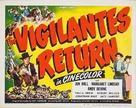 The Vigilantes Return - Movie Poster (xs thumbnail)