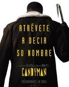 Candyman - Spanish Movie Poster (xs thumbnail)