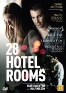 28 Hotel Rooms - Danish DVD movie cover (xs thumbnail)