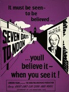 Seven Days to Noon - Movie Poster (xs thumbnail)