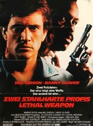 Lethal Weapon - German Movie Poster (xs thumbnail)