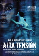 Haute tension - Spanish Movie Poster (xs thumbnail)