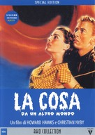 The Thing From Another World - Italian DVD cover (xs thumbnail)