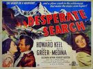 Desperate Search - British Movie Poster (xs thumbnail)