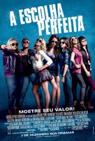 Pitch Perfect - Brazilian Movie Poster (xs thumbnail)
