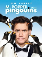 Mr. Popper's Penguins - French Movie Poster (xs thumbnail)