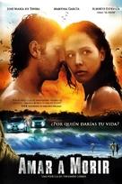 Amar a morir - Mexican DVD cover (xs thumbnail)