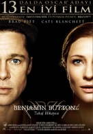 The Curious Case of Benjamin Button - Turkish Movie Poster (xs thumbnail)