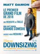 Downsizing - French Movie Poster (xs thumbnail)