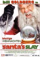 Santa's Slay - German DVD cover (xs thumbnail)