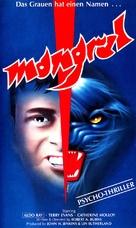 Mongrel - German VHS movie cover (xs thumbnail)