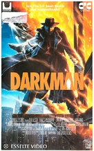 Darkman - Finnish VHS movie cover (xs thumbnail)