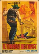 The Oklahoma Kid - Italian Movie Poster (xs thumbnail)