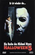 Halloween 5 - Austrian DVD movie cover (xs thumbnail)