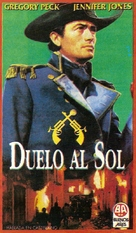 Duel in the Sun - Argentinian VHS movie cover (xs thumbnail)