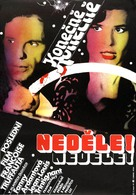 Vivement dimanche! - Czech Movie Poster (xs thumbnail)