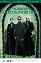 The Matrix Reloaded - Polish DVD cover (xs thumbnail)