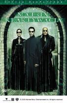 The Matrix Reloaded - Polish DVD movie cover (xs thumbnail)