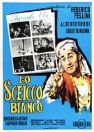 Lo sceicco bianco - Italian Movie Poster (xs thumbnail)