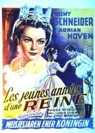 Mädchenjahre einer Königin - Belgian Movie Poster (xs thumbnail)