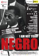 I Am Not Your Negro - Italian Movie Poster (xs thumbnail)