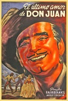 The Private Life of Don Juan - Argentinian Movie Poster (xs thumbnail)