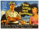 The Long, Hot Summer - British Movie Poster (xs thumbnail)