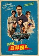 Blue Iguana - British Movie Poster (xs thumbnail)