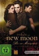 The Twilight Saga: New Moon - German Movie Cover (xs thumbnail)