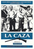 La caza - Spanish Movie Poster (xs thumbnail)