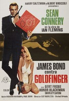 Goldfinger - Spanish Movie Poster (xs thumbnail)