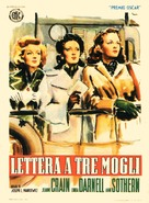 A Letter to Three Wives - Italian Movie Poster (xs thumbnail)