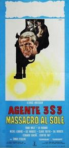 Agente 3S3, massacro al sole - Italian Movie Poster (xs thumbnail)