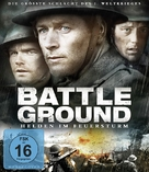 Forbidden Ground - German Blu-Ray cover (xs thumbnail)