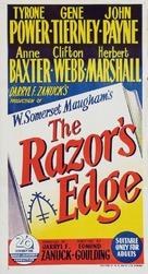 The Razor's Edge - Australian Movie Poster (xs thumbnail)