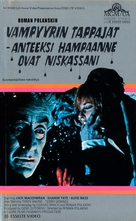 Dance of the Vampires - Finnish VHS movie cover (xs thumbnail)