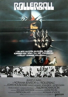 Rollerball - Norwegian Movie Poster (xs thumbnail)