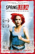 Lola Rennt - Swedish VHS cover (xs thumbnail)